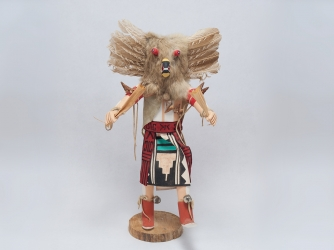Navajo Owl Kachina Standing 17.5 Inches Tall