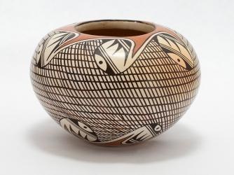 Rare Design Helen Naha aka Feather Woman Bowl