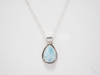 Larimer & Sterling Pendant with Chain
