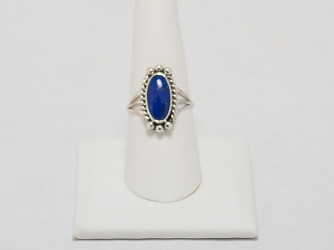 Dark Blue Lapis Ring