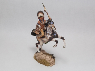 'Strength of the Wolf' Figurine from the Warrior's Quest Collection - 1995