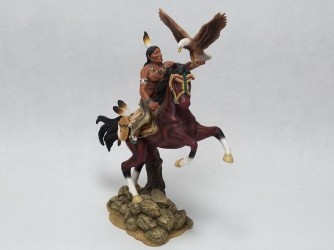 'Cry of the Eagle' Figurine from the Warrior's Quest Collection - 1995