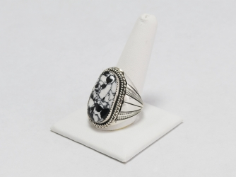 Men's White Buffalo Ring