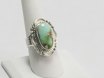 Royston Turquoise Ring Size 8 1/4