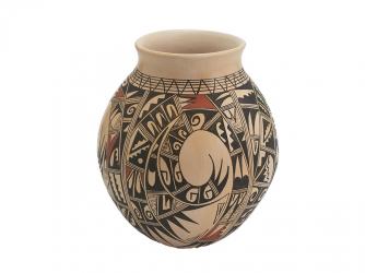 Sikyatki Vase by Famous Hopi Potter Antoinette Honie