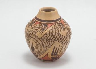 Sikyatki Polychrome Vase by Hopi Potter Adell Nampeyo