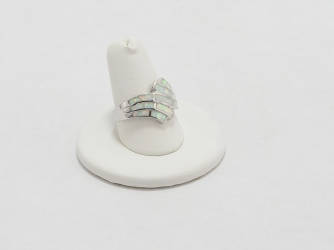 Opal Modern Design Ring