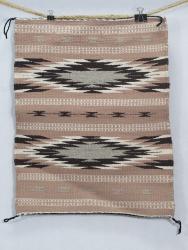 Navajo Rug 20 1/2 x 16 by S. Yazzie
