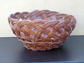 Vintage Hand-Made Laguna Pueblo Basket