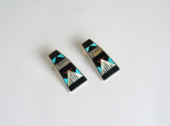 Zuni Channel Inlay Earrings