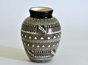 Vase (6 inches tall) by Navajo Yabeny