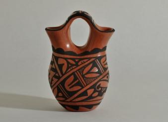 Jemez Wedding Vase by D. Chinana