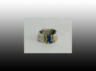 Heishe 6 Coil Bracelet