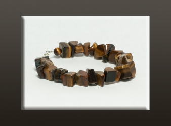 Tiger Eye Chunk Bracelet