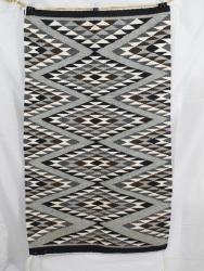 22 1/2 x 38 1/2 Navajo Rug by Angela Taylor
