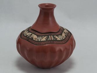 Jemez Vase by Award Winning Potter BJ Fraqua