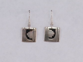 Hopi Silouette Earrings by Johnny & Denise Billy