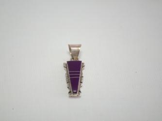 Navajo Sugilite Pendant by Steve Francisco